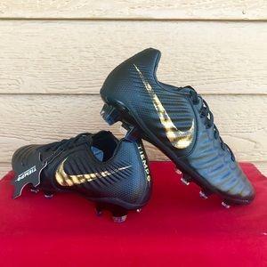 Nike Elite Legend 7 JR FG Soccer Cleats Black
